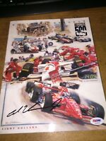 1994 Indy 500 Program Autographed by winner Al Unser Jr! Mint! PSA/DNA Cert!!