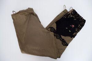 Maharishi Mens Embroidered Combats Cargo Pants Bottoms Size 2XL Khaki Green