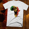 African Map T-Shirt Black History Month Africa Lion Melanated Pride New, cotton