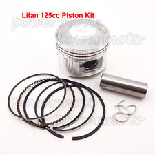 Motorcycle Piston Pin Ring Set 52mm 14mm Fit ATV Lifan 125cc Pit Dirt Trail Bike