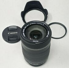 Canon EF-S 18-135mm f/3.5-5.6 IS Lens - Plus Filter & Lens Hood!