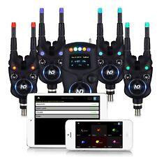 New Direction Tackle Bluetooth Funk Bissanzeiger Set K9 R9 4+1 zum Karpfenangeln