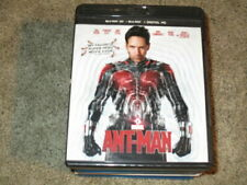 3D MOVIE BLU RAY ANT-MAN MARVEL COMICS PAUL RUDD W/BLACK CASE