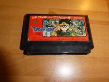 GAME/JEU FAMICOM NITENDO NES JAPANESE DRAGON QUEST III 3 EFC D3 ENIX JAPAN **
