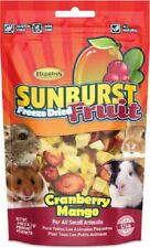 Higgins Sunburst FREEZE DRIED FRUIT Cranberry Mango Sm Animal 5 oz MADE IN USA