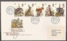 GB FDC British Wildlife 5.10.1977