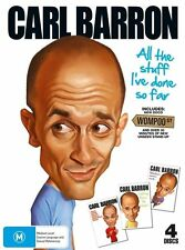 Carl Barron - Collection (DVD, 2013, 4-Disc Set) -- Free Postage --