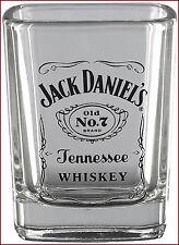 Jack Daniel's Whisky Shot Glass, Officially Licensed Jack Daniel's Barware