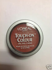 L'Oreal Touch-On Colour For Lips + Eyes & Cheeks ( CASHMERE MAPLE ) New.