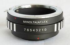 Sony Alpha Minolta AF Lens to Fujifilm X-Pro1 Lens Mount Adapter FX Mount MA-FX