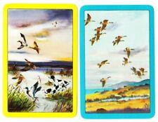 Swap playing cards     1 pair Birds,  Ducks, Geese