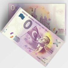 0 Euro Souvenir - Different serial - TUAB - Turkiye / Atatürk