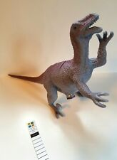 Velociraptor Dinosaur Micro Tube Cache Container for Geocaching comes w Log Book