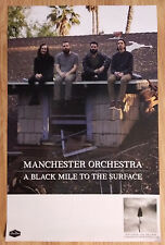 Music Poster Promo Manchester Orchestra - A Black Mile To The Surface