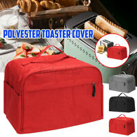 Foldable2-Slices Toaster Bakeware Polyester Cover Household Dustproof   //#