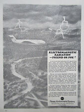 11/73 PUB PLESSEY ENVIRONMENTAL SYSTEMS ELECTROMAGNETIC RADIATION FRIEND FOE AD