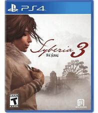Syberia 3 PS4 (PlayStation 4) Brand New Factory Sealed