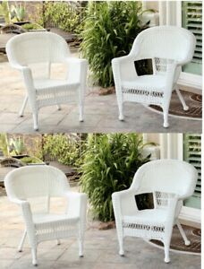 One Wicker Chair Brand New In The Box Stackable For Patio Not Included Fire pit