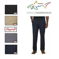 SALE! Greg Norman Mens Performance Ultimate Travel Pant W/ Pocket Button - I52