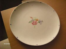 "Vintage Floral Poole Pottery Dinner Plate. 10 1/4""."