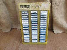 Vintage REDI Fuses Display Case Full of Champ Fuses #1134
