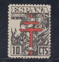 ESPAÑA (1941) NUEVO SIN FIJASELLOS MNH SPAIN -EDIFIL 948 (10 cts) LOTE 4