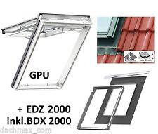 VELUX Dachfenster GPU MK10 0050 78x160 cm + EDZ 2000 (Thermo Star 0059) KSFV22