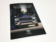 2019 Ram 1500 Redesign Launch Preview Brochure