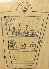 Halloween Medicine Chest Pharmacy Newt Effie Glitzfingers St Louis Stamp Rubber