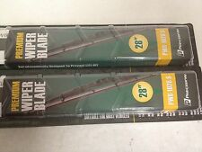 """(2) Dodge Chrysler Grand Caravan Voyager Town & Country 28"""" Wiper Blades"""