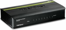 TRENDnet TE100-S8 8 Port Unmanaged Desktop Wired Network Switch 100Mbps UK
