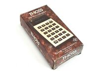 Texas Instruments Ti-1025 Calculator with Box and Manual