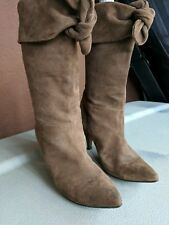 Stylish & Sexy Women Suede Boots size 7.5 used