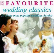 Favorite Wedding Classics Favourite Wedding Classics Audio CD