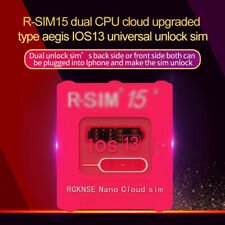 Upgraded R-SIM 15 Pro Dual Nano Unlock iOS13 Card For iPhone 11 Pro X Max 8 7 6