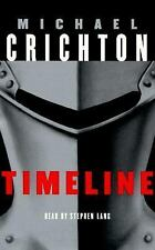 Timeline by Michael Crichton (1999, Audio, Cassettes