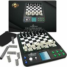 Set Board Game Voice Chess Academy Classical 8 In1 Computer Tea Light up Toy 134