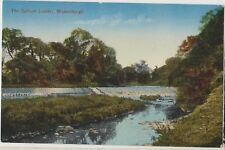 MUSSELBURGH The Salmon Ladder SCOTLAND Vintage Colour PC c1910s