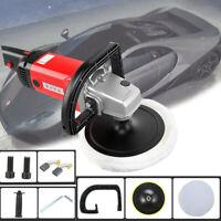 Poliermaschine Auto Polierer Set Schleifmaschine 1400W 0-3000U/min