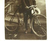Photo 1910 EGA BADENIA Gaggenau Halbrenner Fahrrad antique bicycle velo ancien