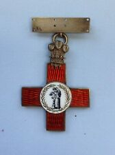 More details for original/collectable full size medical nursing league of mercy badge/medal 1898