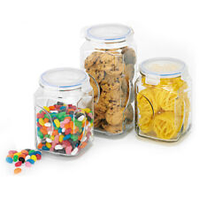 NEW GlassLock Canister Set 3 Piece