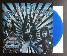 "Motorhead Whiplash 7"" BLUE VINYL Lemmy Metallica Slayer NWOBHM Venom Rare NEW"