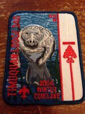 Timuquan Lodge #340 2004 Winter Conclave Oa Order of the Arrow Manatee I-195
