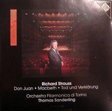 CD Richard Strauss - Sanderling - Orchestra Filarmonica