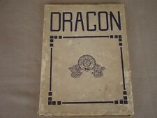 1923 THE DRAGON WAHS Warren Area High School - Pa - Yearbook - Free S/H