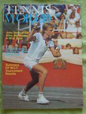 TENNIS WORLD / 1974 MAY 2 / JOHN NEWCOMBE WINS BIG MONEY IN WILD WEST