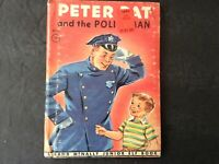 Vintage Peter Pat and the Policeman A Rand McNally Elf Book,1948
