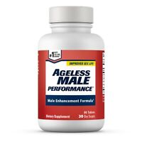 Ageless Male Performance Natural Male Enhancement - 60 Tablets - Free Shipping