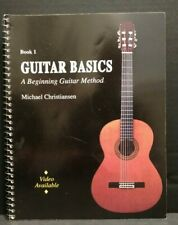 Guitar Basics Book 1 A Beginning Method Michael Christiansen Instructional T68